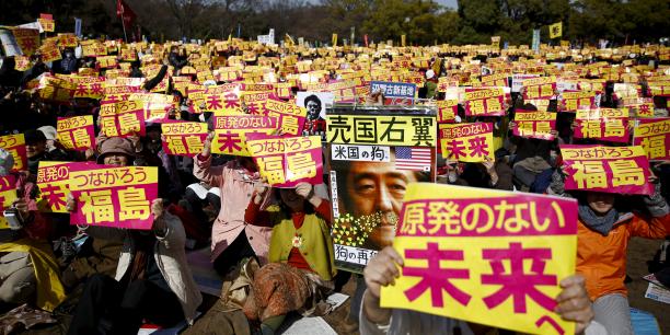 Aujourd'hui, au Japon, 5 réacteurs sur 42 sont actuellement actifs et le rythme des redémarrages est très inférieur à ce souhaite le gouvernement de Shinzo Abe, ouvertement pro-nucléaire.