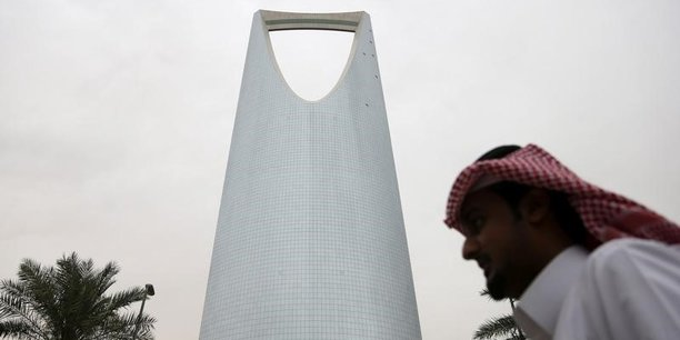 Le Kingdom centre de Riyad.