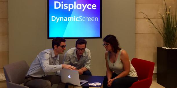 Les équipes de Displayce et de DynamicScreen ont planché de concert pour aboutir au démonstrateur Doohlab.