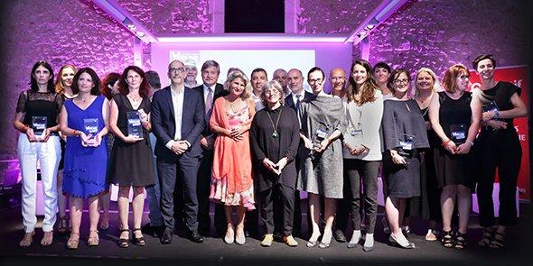 L'ensemble des lauréates et partenaires des LTWA by Objectif 2017