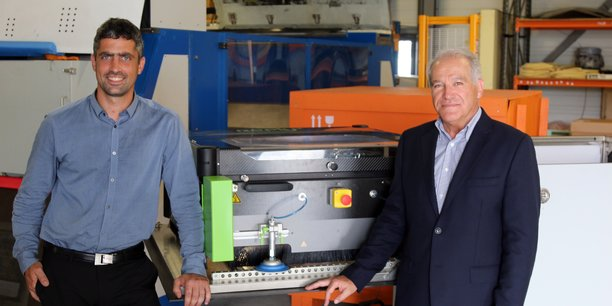 François Cénac, président de Bayab et Michel Déléris, PDG de Jedo Technologies.