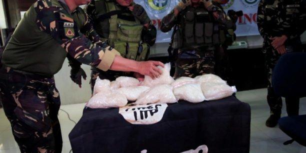 Manille dit avoir saisi d'importants stocks de drogue a marawi[reuters.com]