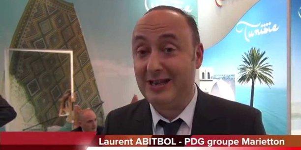 Laurent Abitbol, PDG du voyagiste Marietton Developpement.