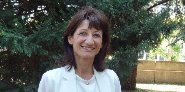 Marie-Pierre Mouton, présidente du Conseil départemental de la Drôme. La première femme à occuper cette fonction.