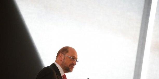 Martin schulz (spd) promet une hausse des impots pour les riches[reuters.com]