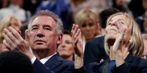 François Bayrou, le ministre de la Justice, et Marielle de Sarnez, ministre des Affaires européennes ont annoncé leur démission du gouvernement ce mercredi 21 juin. (Photo: François Bayrou et Marielle de Sarnez le 18 juin dernier).