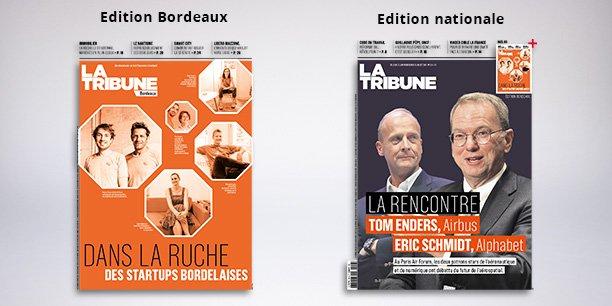 L'Edition Bordeaux est diffusée dans toute la France, accompagnée de l'Edition nationale de La Tribune