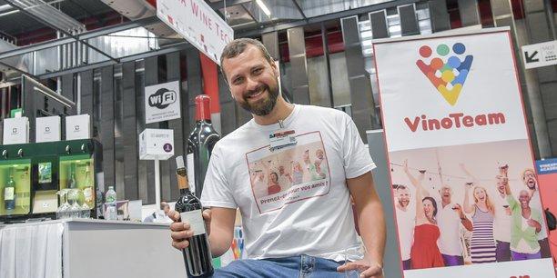 Vincent Chevrier, fondateur de Vinoteam et porte-parole de la WineTech