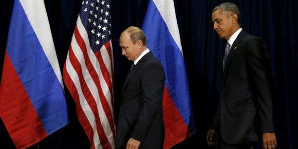 Vladimir Poutine et Barack Obama, le 28 septembre 2015, à New York.