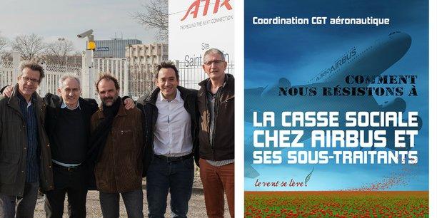 Xavier Petrachi (Airbus), Jean-Pierre Caparros (Altran), Florent Coste (Latécoère), Robert Amade (Sogeti High Tech) et Benoit Arthuys (Assystem) dénoncent dans un livre la casse sociale chez Airbus et ses sous-traitants.