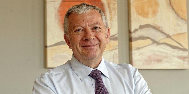 Jean-Luc Heimburger, président de la CCI d'Alsace-Eurométropole.