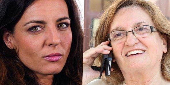 Coralie Dubost et Danièle Hérin, désignées vice-présidentes du groupe La République en Marche à l'Assemblée Nationale le 27 juin 2017.