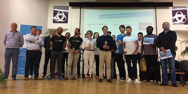 L'Athénée municipal de Bordeaux était complet pour cette 4e édition des Rencontres des entrepreneurs.