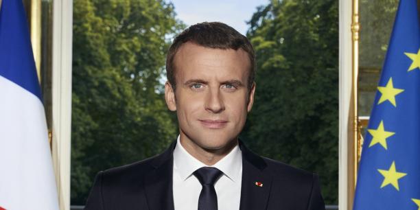 Emmanuel Macron dévoile son portrait officiel sur Twitter — France