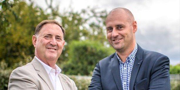 Charles Laurent et Jean-Paul Di Cristo, président et directeur général de Synergies@venir