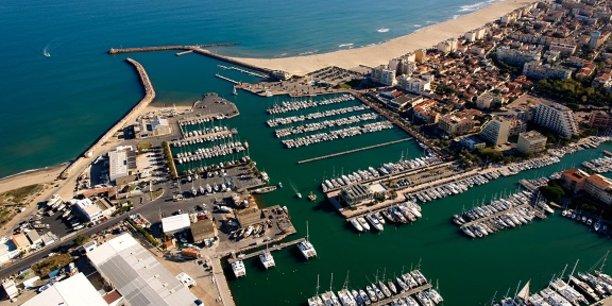 Le pôle nautique de Canet-en-Roussillon