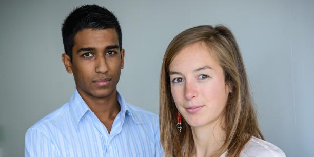 Idris Hassim et Claire Cano, cofondateurs de LuckyLoc, espèrent exporter leur concept dans six autres pays européens d'ici trois ans