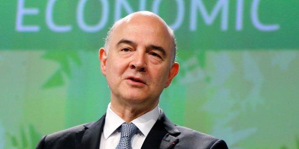 Pierre Moscovici, commissaire européen aux Affaires économiques, s'est montré ferme concernant les déficits publics de la France.