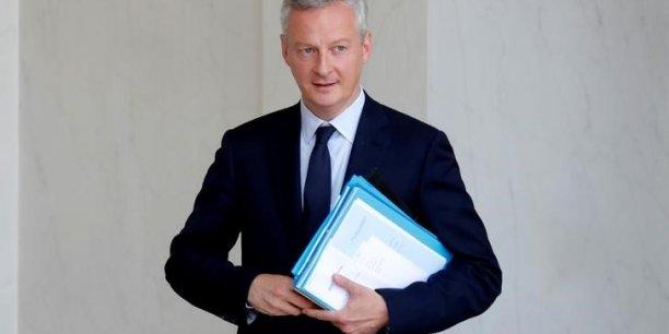 Le ministre de l'Economie et des Finances, Bruno Le Maire, estime que nous sommes devenus l'une des nations les plus attractives pour les investissements étrangers.