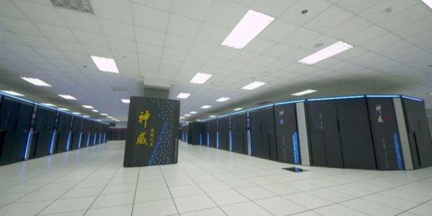 Le superordinateur quantique Sunway Taihulight, situé à Wuxi, à quelques kilomètres de Shangaï, Chine.