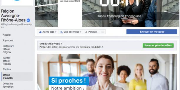 La Région et Facebook partenaires pour la transformation numérique