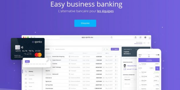 Nous avons créé Qonto pour offrir aux petites entreprises le niveau de services qu'elles méritent. Nous ne sommes, certes, pas banquiers, mais nous sommes des serial entrepreneurs font valoir les cofondateurs de Qonto.