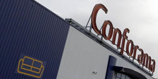 Conforama détient 288 magasins, dont près d'une centaine sont présents dans sept pays européens.