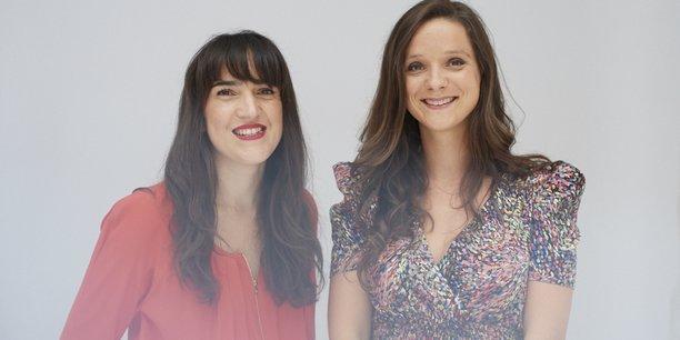 Mannuela Marque (à gauche) et Alwa Deluze (à droite) ont fondé la société de production Anoki en 2008