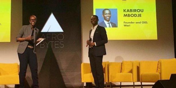 Kabirou Mbodje, CEO de Wari, lors de la conférence organisée par Afrobytes en juin dernier à Paris.