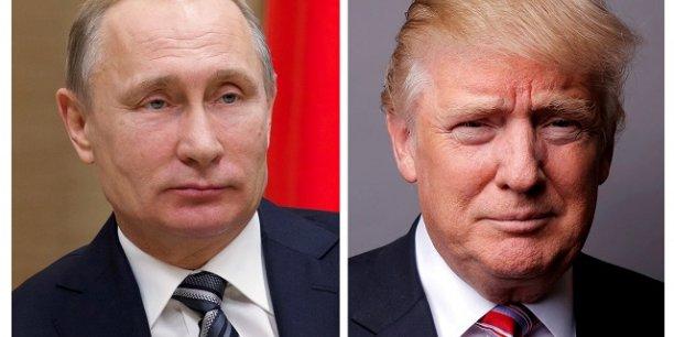 La rencontre entre Vladimir Poutine et Donald Trump inquiète les diplomates des deux grandes puissances.