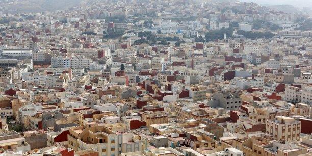 Vue d'Al Hoceima, chef lieu de la région du Rif.