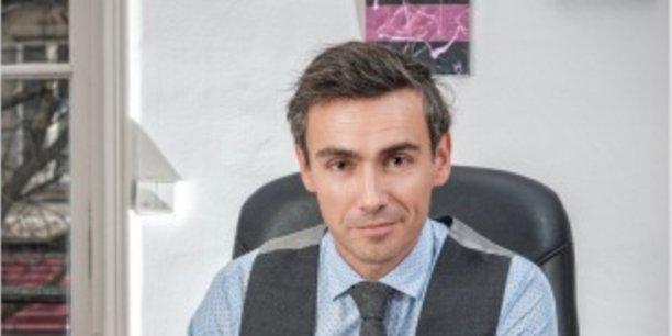 Me David Roguet, élu bâtonnier de Grenoble.