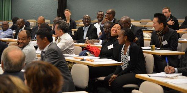Les entrepreneurs d'I&P, réunis lors d'une rencontre annuelle, le 27 novembre 2014 à Paris.