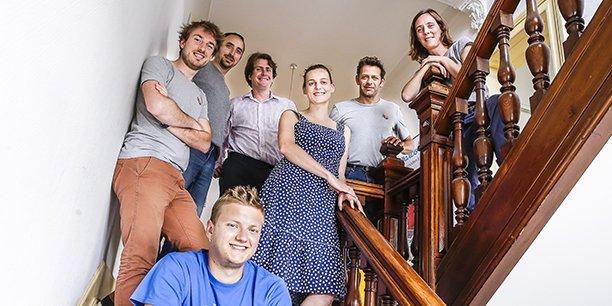 Plusieurs startups sont hébergées au Château numérique à Bègles