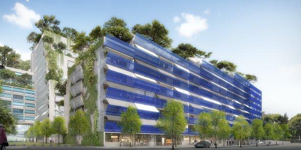 La Calanque, livrée en 2020 et basée à Marseille, est signée Jean Nouvel.
