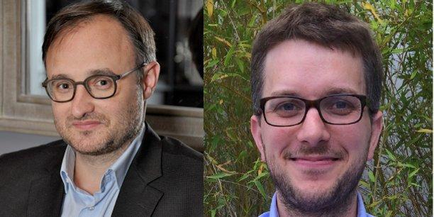 Franck Mouthon : Co-fondateur et Président et  Mathieu Charvériat : Co-fondateur et Directeur Scientifique