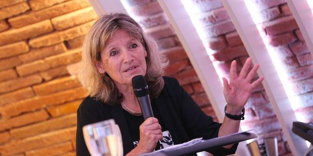 Geneviève Campan lors de La Matinale La Tribune à Toulouse le 11 juillet