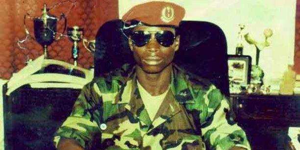 Yahya Jammeh au lendemain de son coup d'Etat, il avait 29 ans