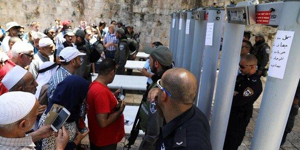 L'esplanade des mosquees rouvre partiellement a jerusalem[reuters.com]