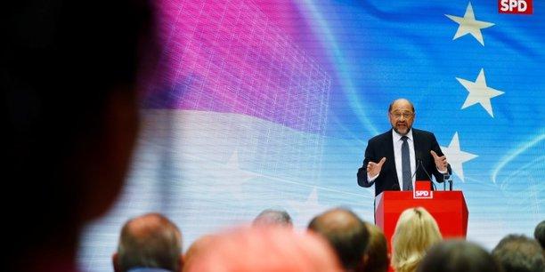 Schulz: l'allemagne peut faire plus pour elle-meme et l'europe[reuters.com]
