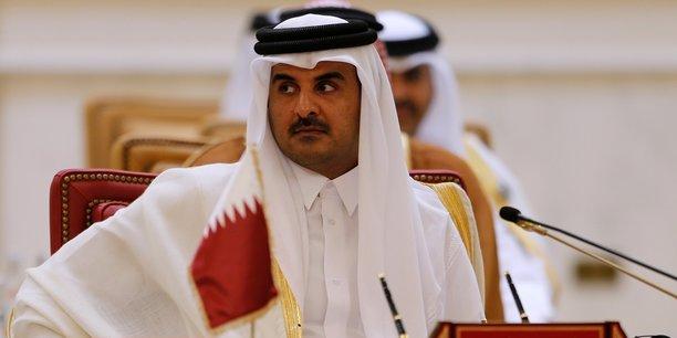 L'émir du Qatar, cheikh Tamim ben Hamad Al-Thani, lors d'un réunion du Conseil de coopération du Golfe à Bahreïn en décembre 2016.
