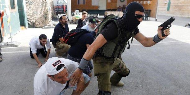 Camps d'entrainement israeliens pour touristes en cisjordanie[reuters.com]
