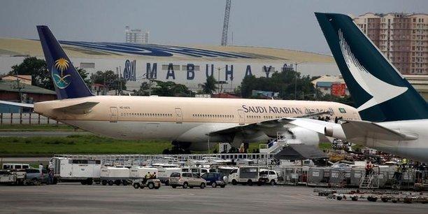 Levee des restrictions sur les vols de saudi arabian airlines[reuters.com]