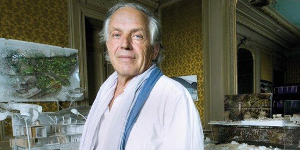 François Fontès, président d'Amétis et repreneur du groupe Sauramps, le 19 juillet 2017.