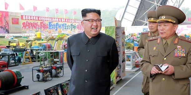 Le PIB de la Corée du Nord a crû de 3,9 % l'année dernière par rapport à 2015, quand l'économie avait été affectée par des sécheresses et une baisse du prix des matières premières.