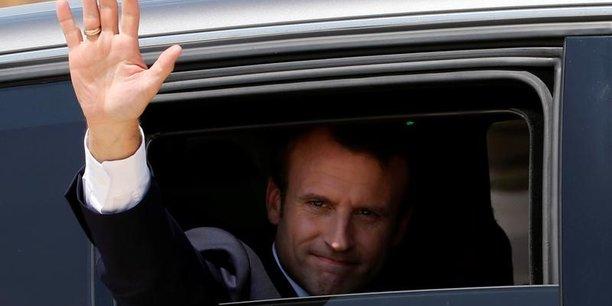 Grosse baisse de popularité pour Macron