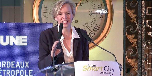 Virginie Calmels a clôturé le 3e Forum Smart City Bordeaux.