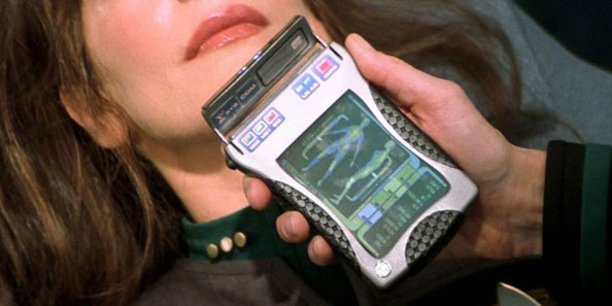Le célèbre « Tricorder » de la série de SF Star Trek.
