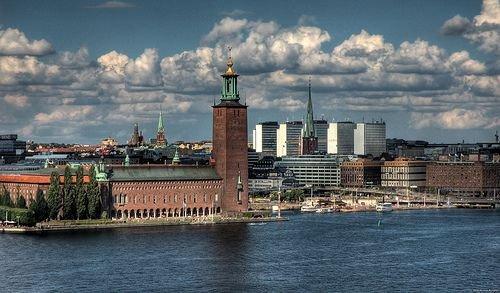 La mairie de Stokholm, en Suède (c) Reuters