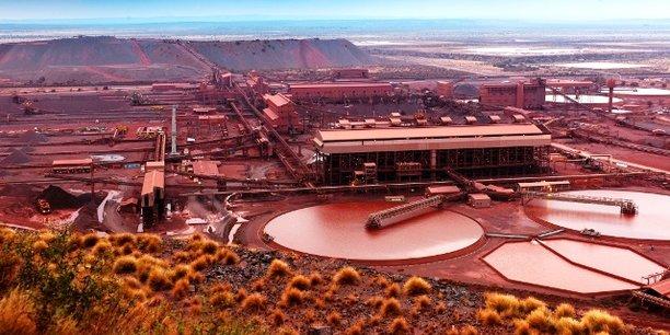 La mine de Sishen est une grande mine de fer située dans le centre de l'Afrique du Sud.